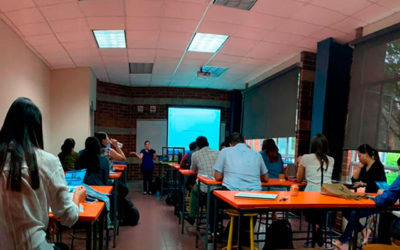 Charla técnica impartida en la Universidad Centro Americana